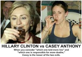 Hillary Clinton Cell Phone Meme - brutal meme compares hillary clinton and casey anthony
