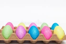 glitter easter eggs glitter easter eggs stock image image of order multi 68758035