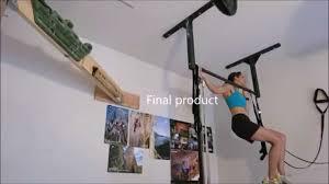 sniezek rock climbing pullup bar installation youtube