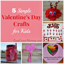 east coast mommy 5 simple valentine u0027s day crafts for kids
