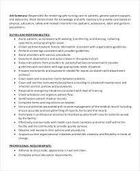 Charge Nurse Job Description Resume Medical Assistant Duties List Duties Of A Certified Medical