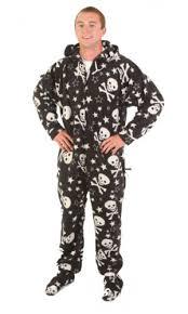 footed skulls deluxe onesies footie pajamas onesie pjs