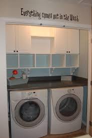 Washing Machine On Laminate Floor Furniture Fascinating Closet Laundry Room Inspiring Design