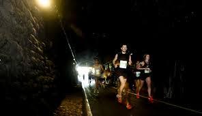 tunnel light marathon 2018 bath marathon