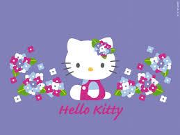 purple hello kitty wallpapers desktop background cartoon idolza