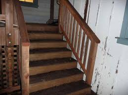 Exterior Stair Railing by Corner S Electoralcom S Wood Deck Stair Railing Ideas Design