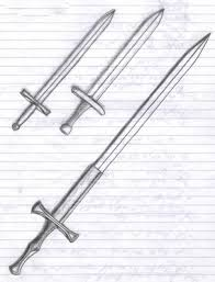 how to draw swords