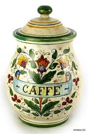 italian ceramic canisters canister sets ceramic foter tuscan