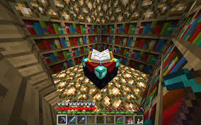 max enchanting bookcase setups survival mode minecraft