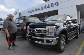 Ford F250 Work Truck - truck sales drive soaring profit at ford wsj