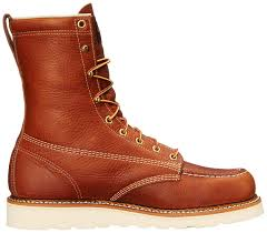 s leather work boots nz amazon com thorogood s heritage 8 moc toe boot