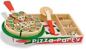 kit de cuisine enfant doug kit pizza bois jeu de rôle jouet cuisine enfant neuf