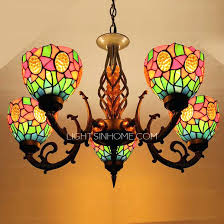 stained glass dining room light stained glass dining room light stained glass shade 5 light antique
