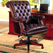 Desk Chair Leather Design Ideas Antique Leather Office Chair Chair Adorable Antique Leather Office