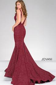wine fitted plunging neckline prom dress 47075 cool stuff to buy