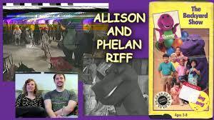 The Backyard Show Book Barney by Brilliant Ideas Of Allison And Phelan Riff Barney The Backyard