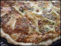 cuisine et gourmandise recette pizza au brie et tomates séchées 750g