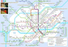 Metro Station In Dubai Map by Frankfurt Maps Top Tourist Attractions Free Printable City