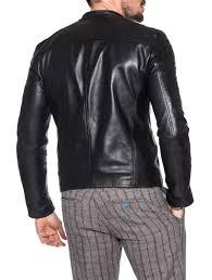 black leather motorcycle jacket men u0027s clothing leather biker jacket nohow x mdv nohow