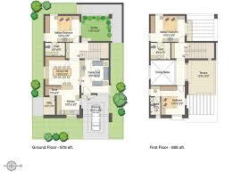 West Facing House Vastu Floor Plans East Face House Plan House Plan