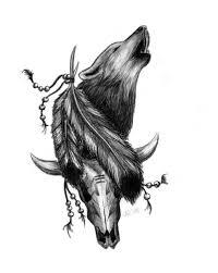 design howling wolf by ninaschee on deviantart