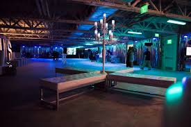Party By Design Filled The Raw Space With Modern Furniture From - Modern furniture boston