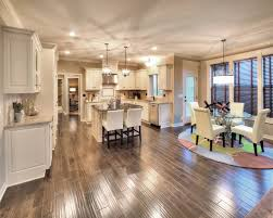 color schemes for open floor plans white enamel cabinets and neutral color scheme in the kitchen of