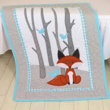 shop aqua baby bedding on wanelo