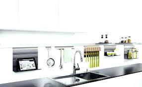 barre ustensiles cuisine inox barre porte ustensiles support ustensiles cuisine inox ustensile