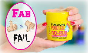 nail aid no rub polish remover gel fab or fail youtube