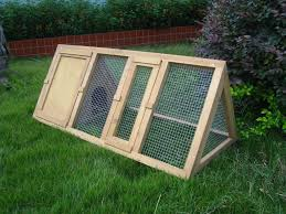 Large Rabbit Hutch With Run Wooden Outdoor Triangle Rabbit Hutch And Run Guinea Pig Ferret