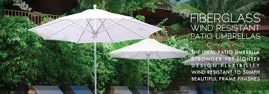 Patio Umbrellas Edmonton Wind Resistant Patio Umbrellas Fiberglass Rib Patio Umbrellas