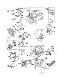 briggs u0026 stratton engine parts model 12q802 sears partsdirect