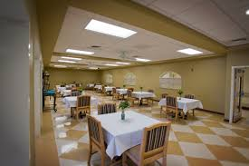 restaurant style dining in nursing homes home decor ideas