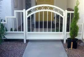 ornamental iron gates affordable fence gates