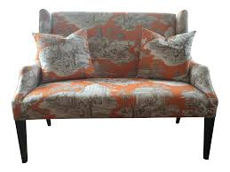 ballard designs toile chinoiserie upholstered