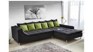 sofa mit ottomane ecksofa montego sofa mit ottomane dunkelgrau kissen grün