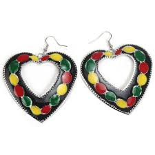 reggae earrings 109 best jamicia day images on reggae fashion jewelry