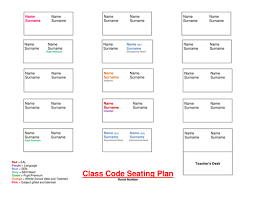 Excel Seating Chart Template Seating Plan Templates By Lmd030190 Teaching Resources Tes