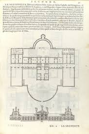 Italian Villa Floor Plans The Idea And Invention Of The Villa Essay Heilbrunn Timeline