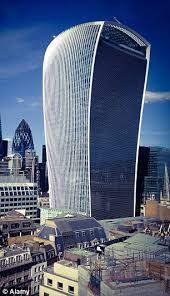 london glass building london s walkie talkie skyscraper is voted the ugliest and most