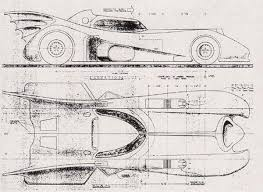 build blueprints build your own 1989 batmobile using these blueprints autoevolution