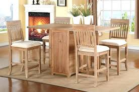 Folding Dining Table With Chair Storage Creative Folding Dining Table With Chair Storage Dining Tables