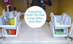 kitchen sink organization my uncommon slice of suburbia