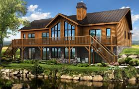 log cabins exterior pictures timber block log home floor plan