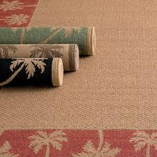 Woven Outdoor Rugs Palm Tree Border Outdoor Rugs Improvements