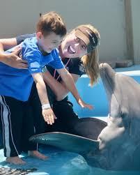 Six Flags Dolphin Swim Fallen Heroes 7 31 13