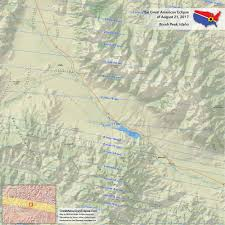 Idaho State Map by Idaho Eclipse U2014 Total Solar Eclipse Of Aug 21 2017