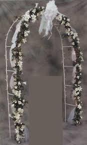 wedding arch used diy blue wedding wedding arch