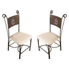 chaises fer forg chaise haute fer forgé inspirations avec galette pour chaise fer